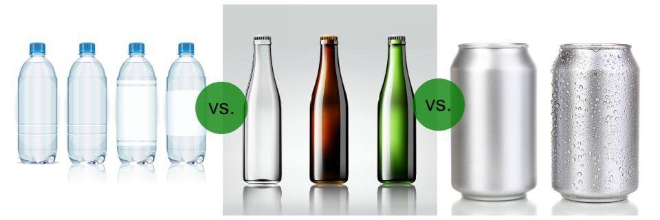 قوطی پلاستیکی یا فلزی